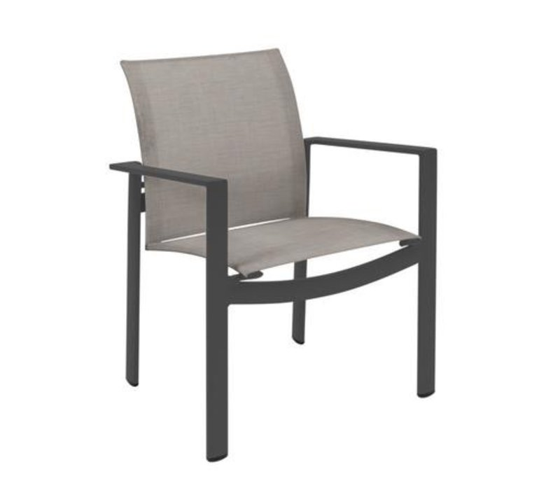 PARKWAY SLING STACKING ARM CHAIR / GRADE A
