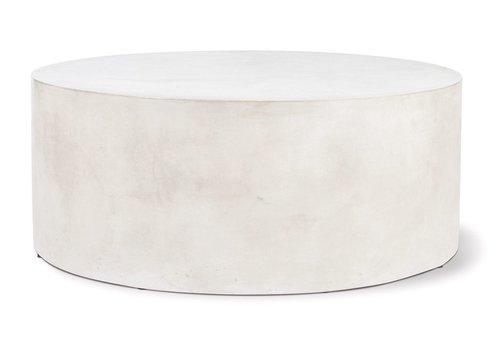 SEASONAL LIVING GRAND LOUIE COFFEE TABLE - SLATE IVORY WHITE