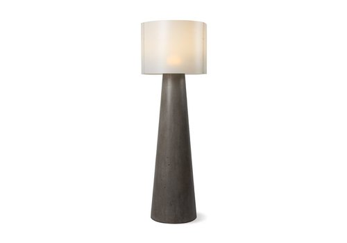 SEASONAL LIVING INDA CORDLESS OUTDOOR LED FLOOR LAMP 55Ó SLATE GRAY