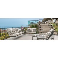 SOFTSCAPE CUSHION LOUNGE CHAIR WITH GRADE A FABRIC