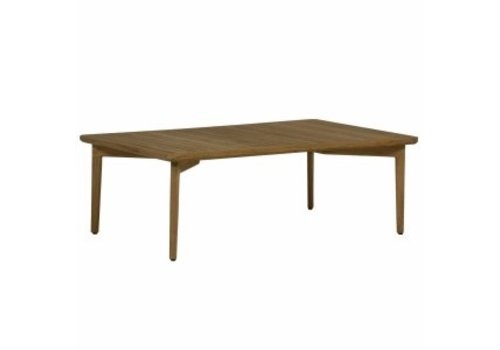 SUMMER CLASSICS WOODLAWN 48x30 COFFEE TABLE IN NATURAL TEAK