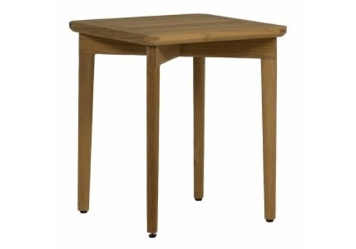 SUMMER CLASSICS WOODLAWN 17x17 END TABLE IN NATURAL TEAK