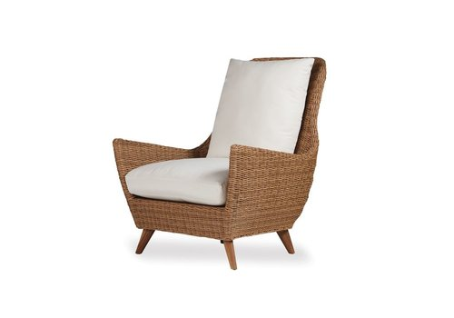 LLOYD FLANDERS TOBAGO HIGH BACK LOUNGE CHAIR WITH GRADE A FABRIC / NO WELT