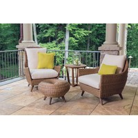 TOBAGO HIGH BACK LOUNGE CHAIR WITH GRADE A FABRIC / NO WELT