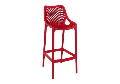 SIESTA AIR BAR STOOL / RED