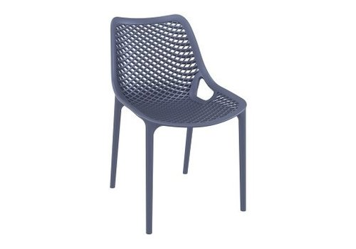 SIESTA AIR DINING SIDE CHAIR / DARK GREY