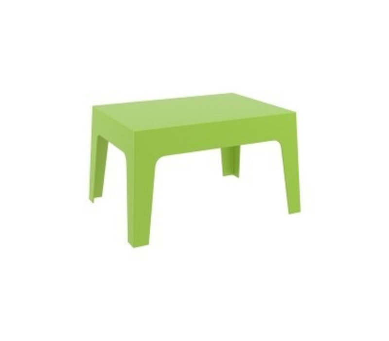 BOX OCCATIONAL TABLE / TROPICAL GREEN