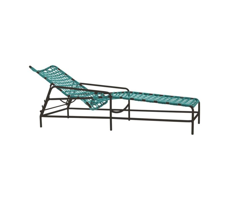 KANTAN ADJUSTABLE CHAISE WITH SUN CLOTH STRAP