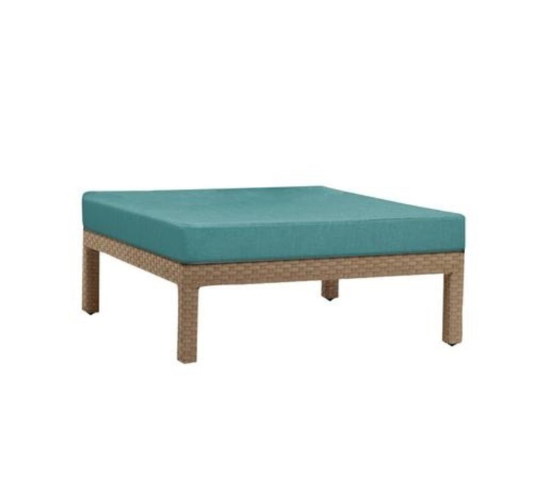 ELEMENTS SECTIONAL OTTOMAN IN MOCA RESINWEAVE / GRADE A FABRIC