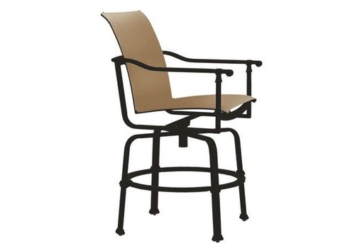 BROWN JORDAN FREEMONT SLING SWIVEL BALCONY CHAIR WITH GRADE A SLING