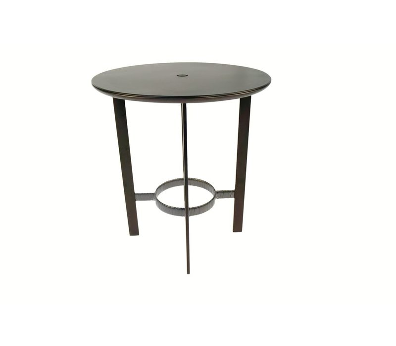 PARKWAY 36 BAR TABLE WITH SOLID ALUMINUM TOP
