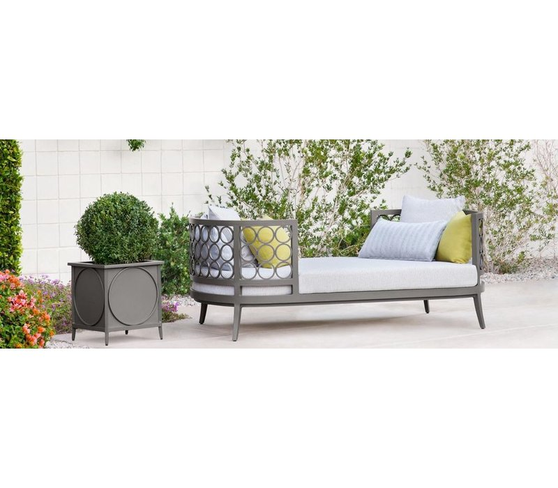 LUNA SUNPORT WITH LOOSE CUSHION - 2 RECT. PILLOWS AND  4 SQUARE PILLOWS - GRADE A FABRIC