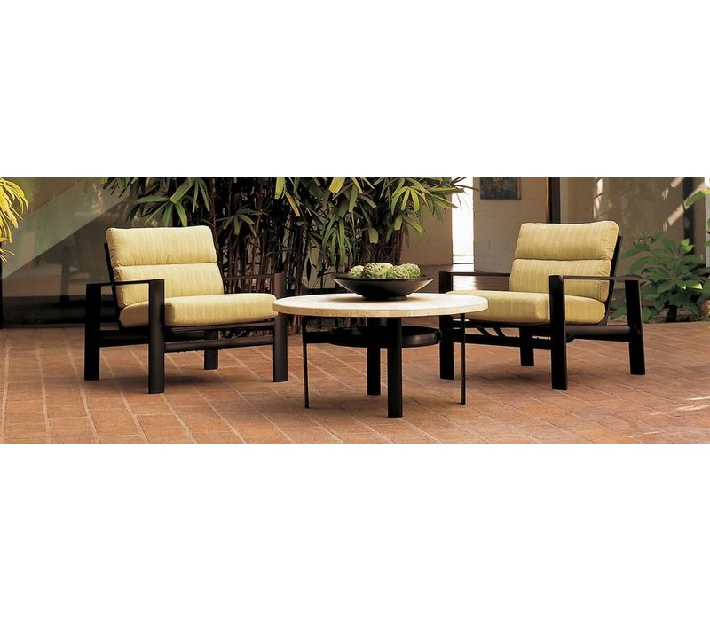 PARKWAY CUSHION MOTION LOUNGE CHAIR WITH GRADE A FABRIC