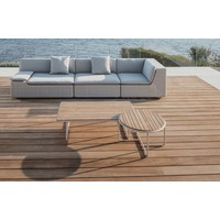 LOU COFFEE TABLE WITH TEAK TOP
