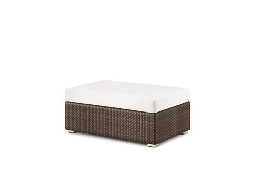 DEDON LOUNGE 26X43 FOOTSTOOL / COFFEE TABLE IN JAVA