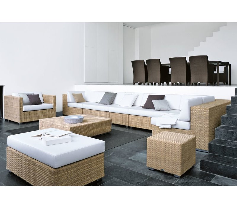 LOUNGE 26X43 FOOTSTOOL / COFFEE TABLE IN JAVA