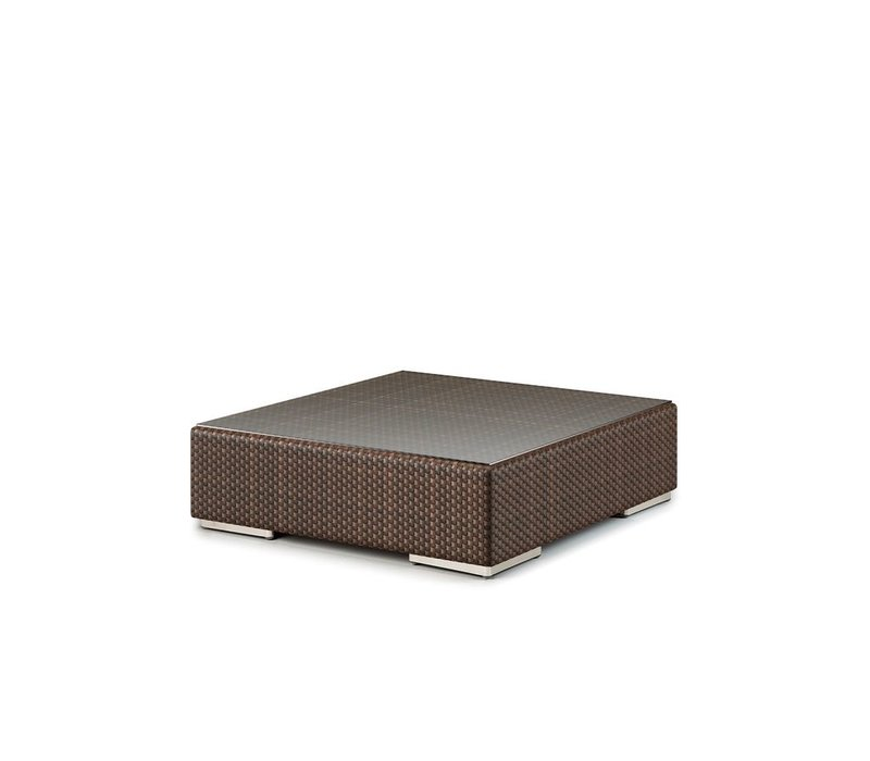 LOUNGE 43 INCH SQUARE FOOTSTOOL / COFFEE TABLE IN JAVA