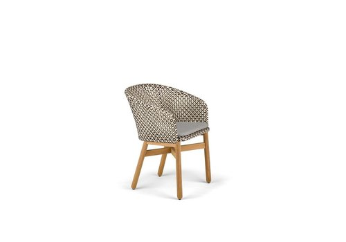 DEDON MBRACE ARMCHAIR IN PEPPER