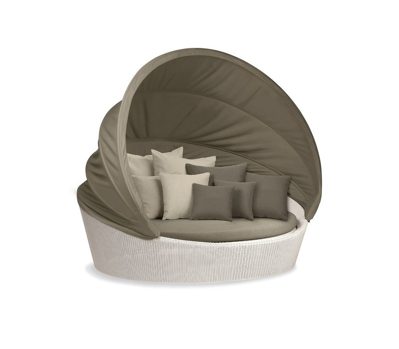 ORBIT XXL IN CHALK WITH TAUPE CANOPY