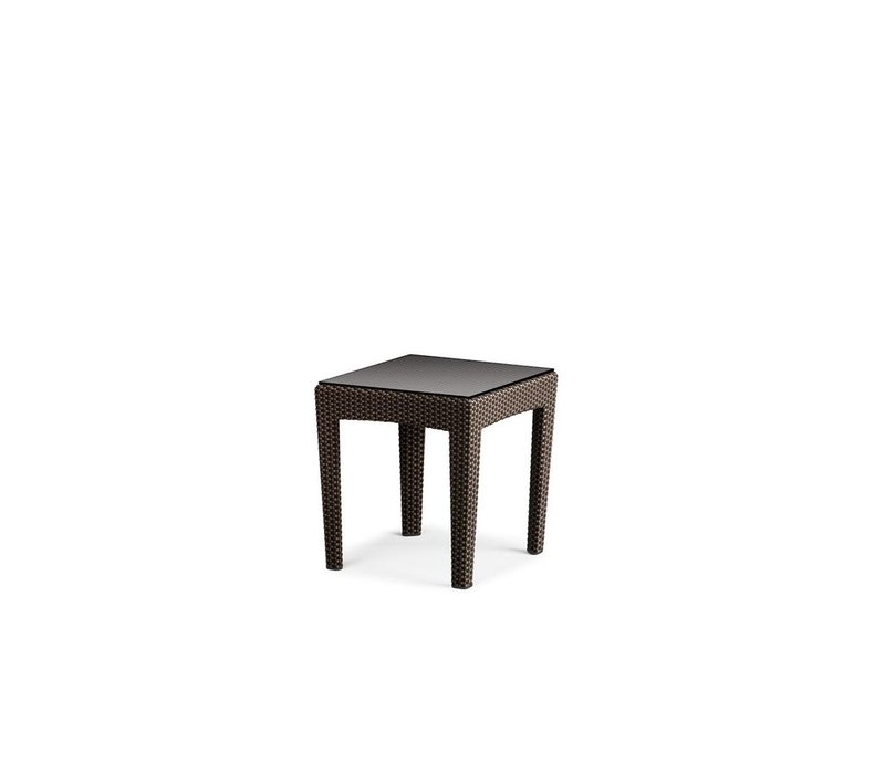 PANAMA SIDE TABLE IN BRONZE