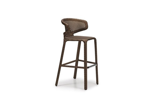 DEDON SEASHELL BARSTOOL IN BRONZE
