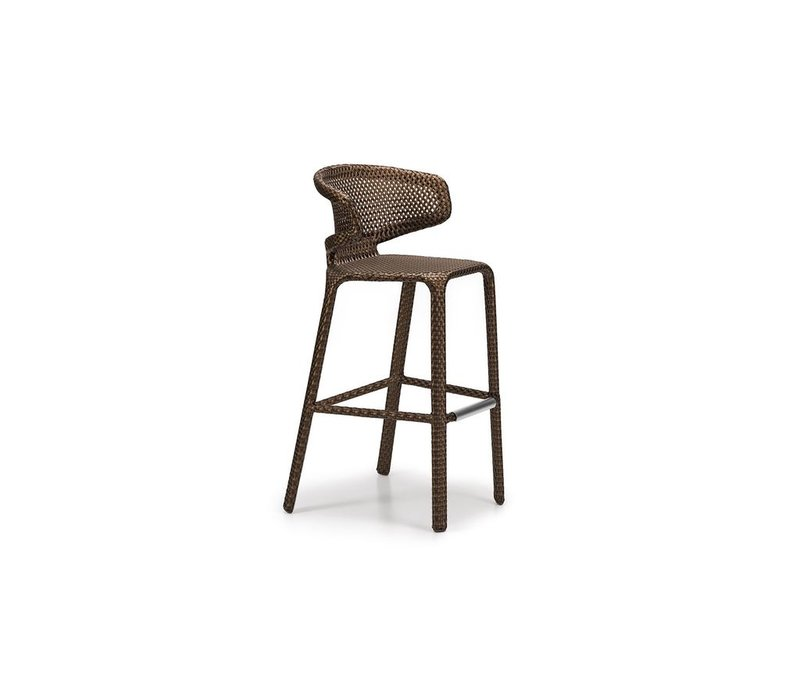 SEASHELL BARSTOOL IN BRONZE