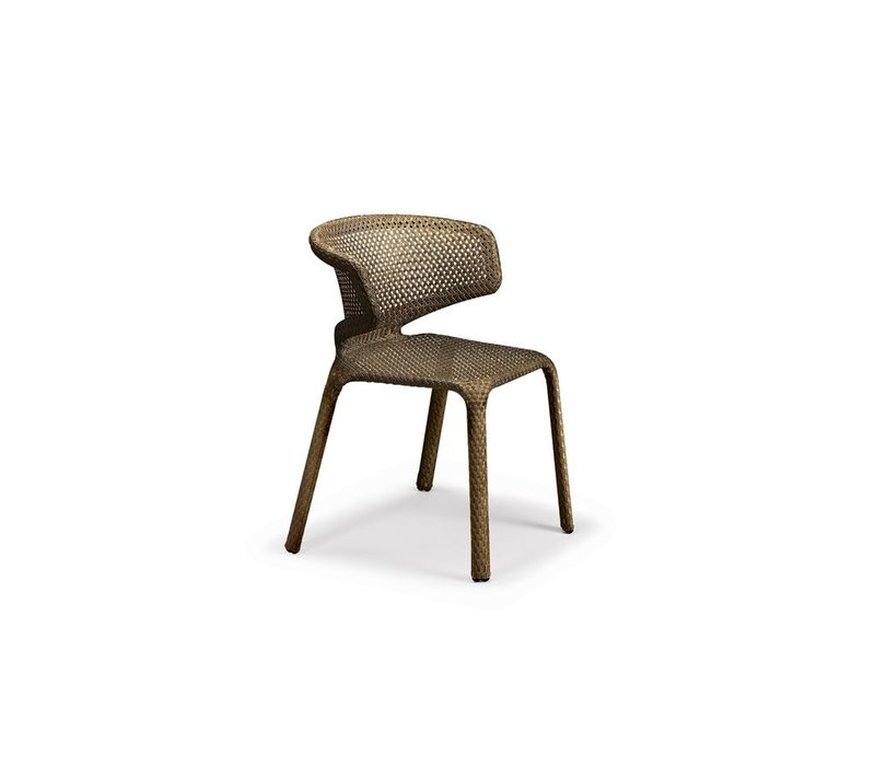 SEASHELL ARM CHAIR IN BRONZE