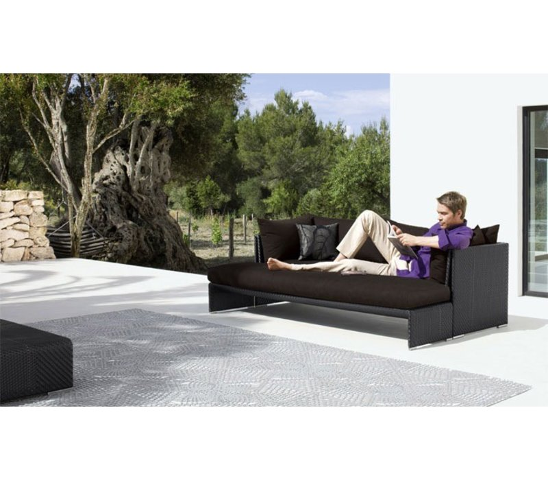 SLIM LINE 79 INCH BENCH IN CHALK