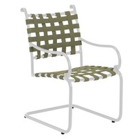 ROMA SUNCLOTH STRAP SPRING BASE DINING CHAIR