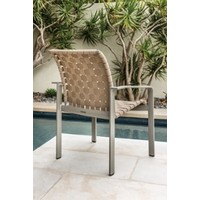SOFTSCAPE STRAP DINING ARM CHAIR