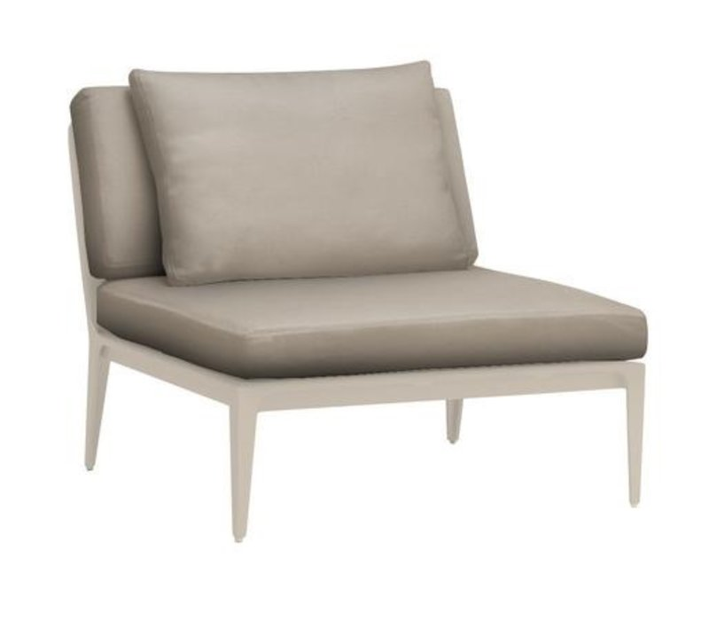 STILL CENTER ARMLESS SECTIONAL WITH GRADE A FABRIC