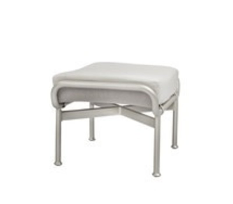 VERGE OTTOMAN WITH CUSHION IN GRADE A FABRIC