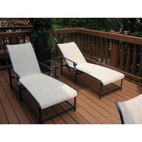 AEGEAN ADJUSTABLE CHAISE WITH GRADE A SLING