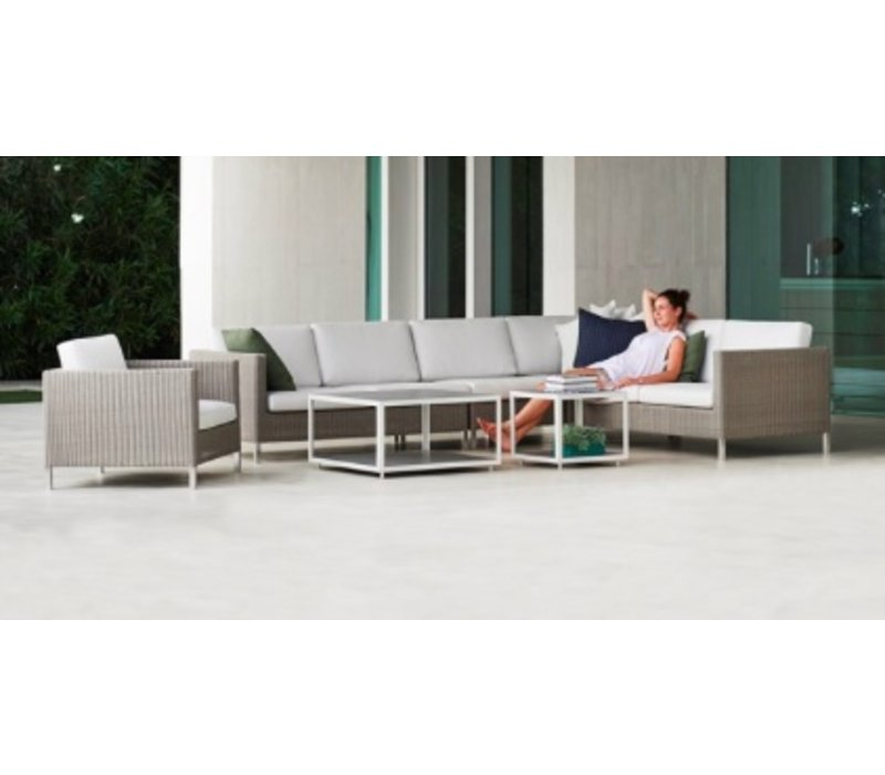 CONNECT 2-SEATER SOFA RIGHT MODULE IN TAUPE