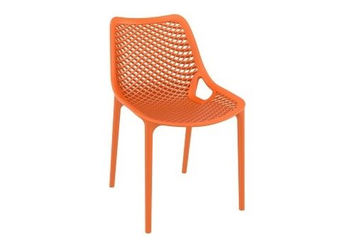 SIESTA AIR DINING SIDE CHAIR / ORANGE