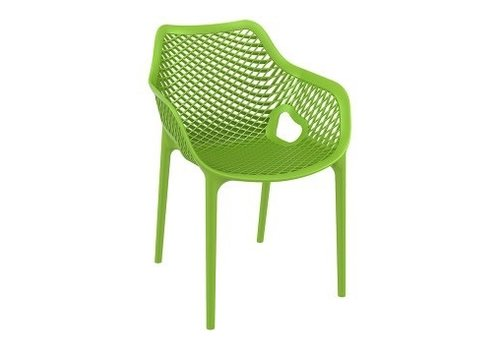 SIESTA AIR XL DINING ARM CHAIR / TROPICAL GREEN