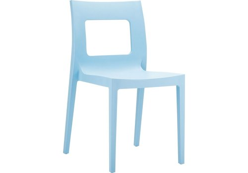 SIESTA LUCCA DINING CHAIR IN LIGHT BLUE