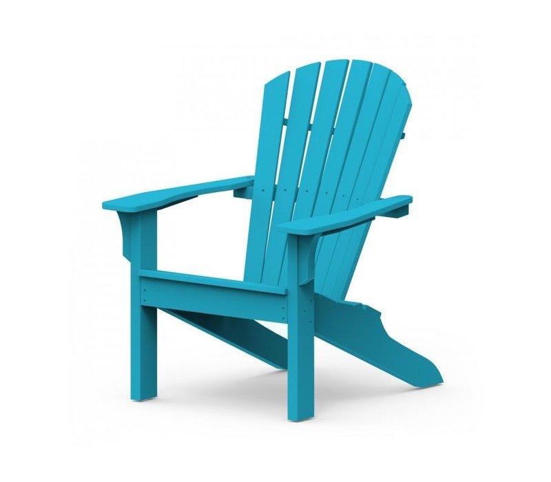 ADIRONDACK SHELLBACK CHAIR - POOL BLUE