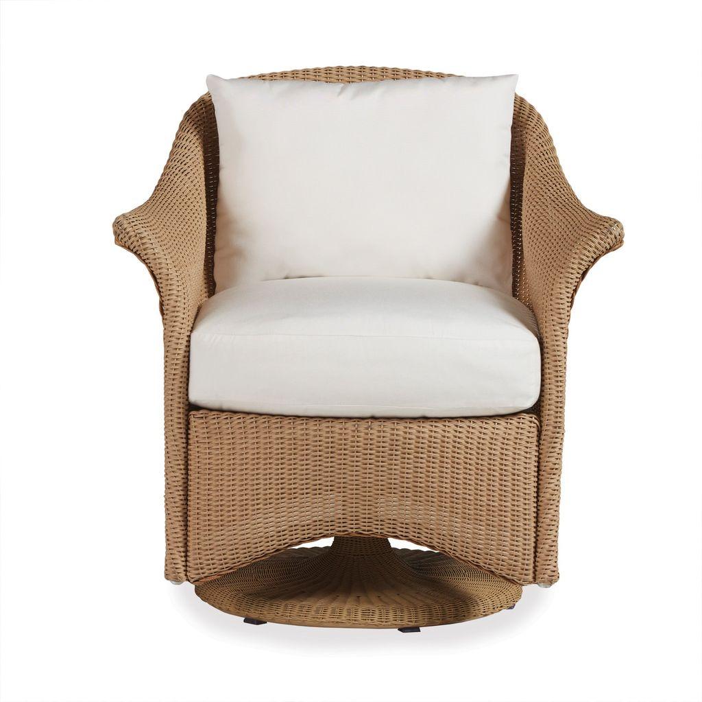 Lloyd Flanders Generations Swivel Rocker Dining Chair With