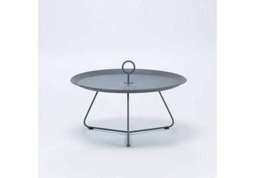 HOUE EYELET 28 INCH TRAY TABLE IN DARK GREY POWDER COATED STEEL