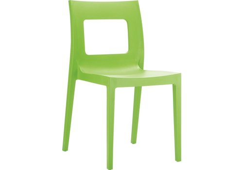 SIESTA LUCCA DINING CHAIR IN TROPICAL GREEN