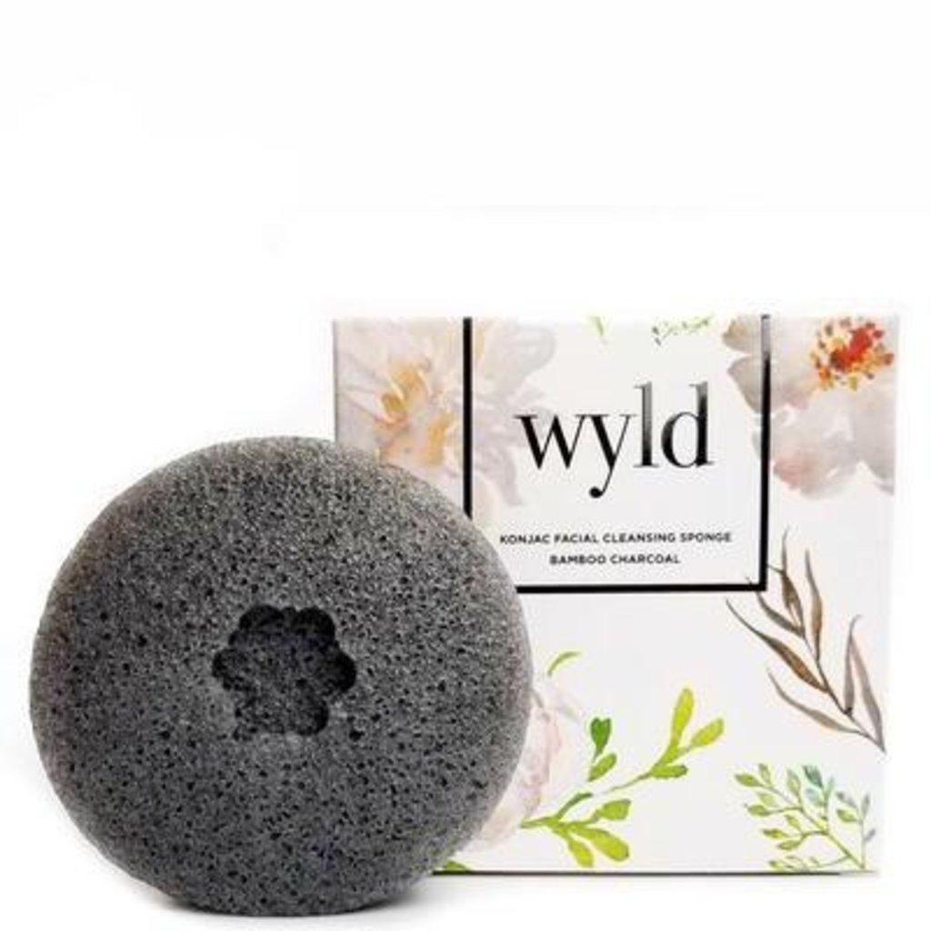 Wyld, Konjac Sponge Bamboo Charcoal
