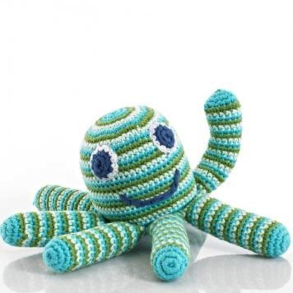Pebbles Pebbles, Octopus Rattle