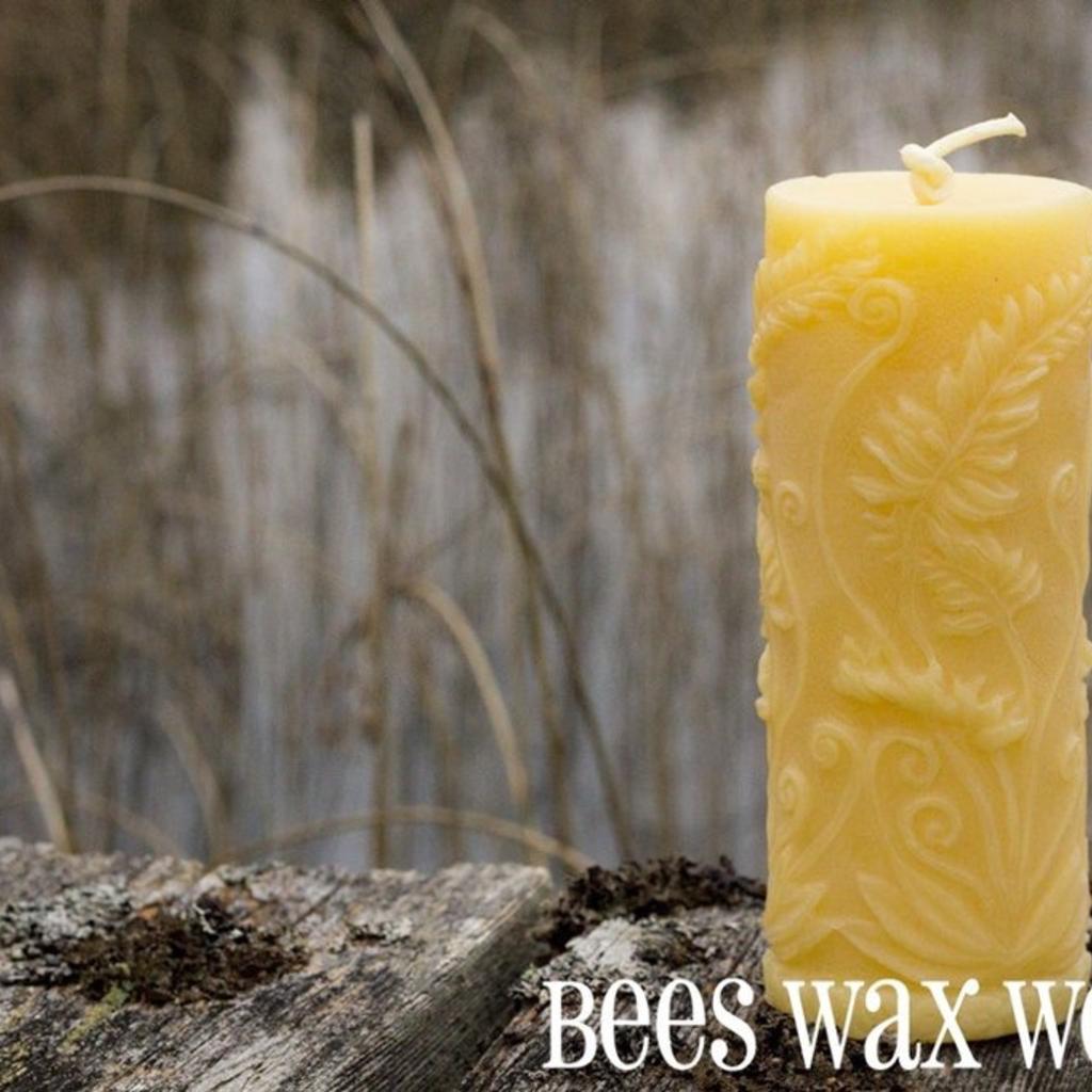 Bees Wax Works, Rustic Fern Globe
