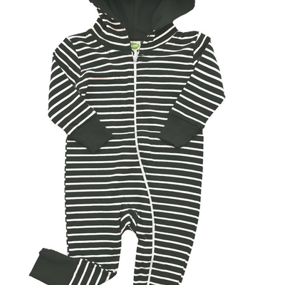 Parade, 2 Way Hooded Zipper Romper