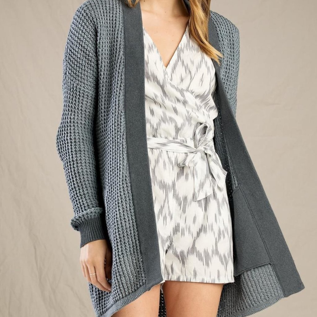 Toad & Co Toad & Co, Recycled Denim Cardi