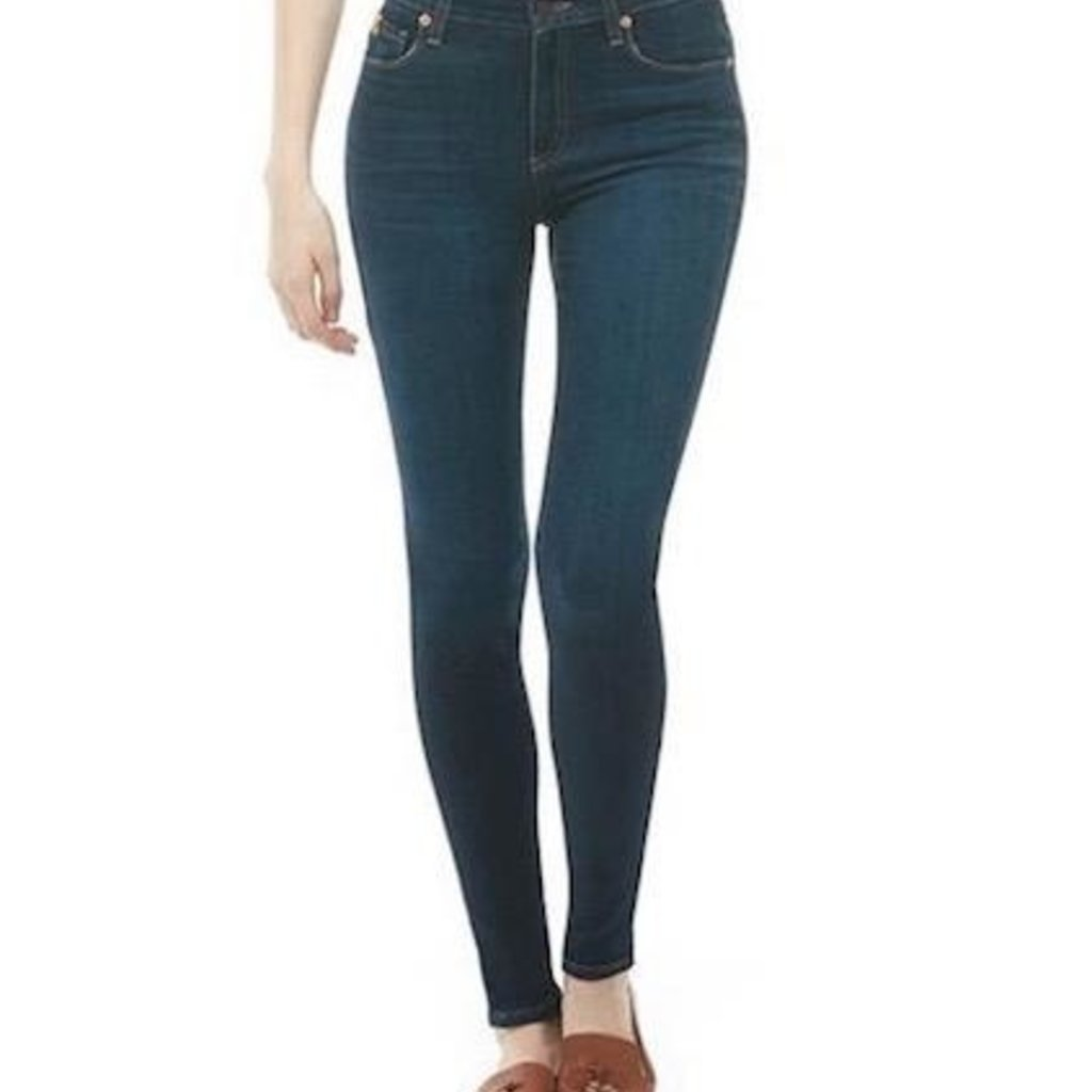 "Yoga Jeans, Classic Rise Skinny 30"" - Dark Indie"
