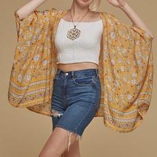 Blessed Kimono, Rayon Crepe