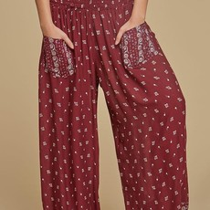 Genie Pant w/ Patch Pockets, Rayon Crepe