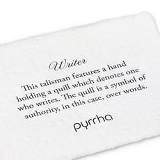 Pyrrha Pyrrha, Writer